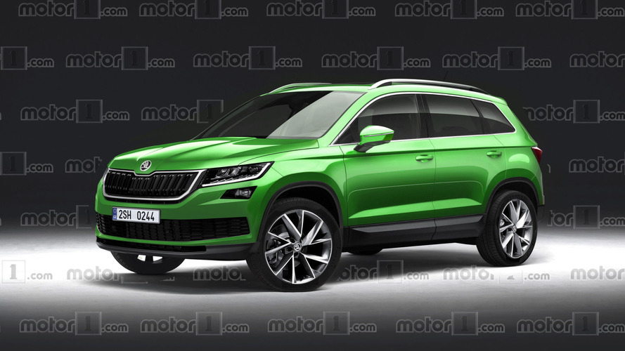 Will the 2018 Skoda Yeti look like a mini Kodiaq?