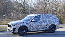 BMW X7 Spy Shots on Road