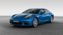 Porsche Panamera 4S 2017 azul