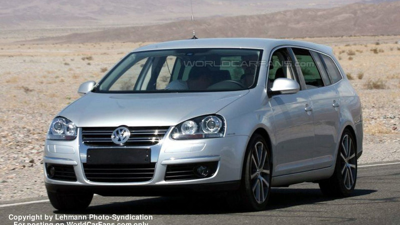 SPY PHOTOS: New VW Golf Wagon