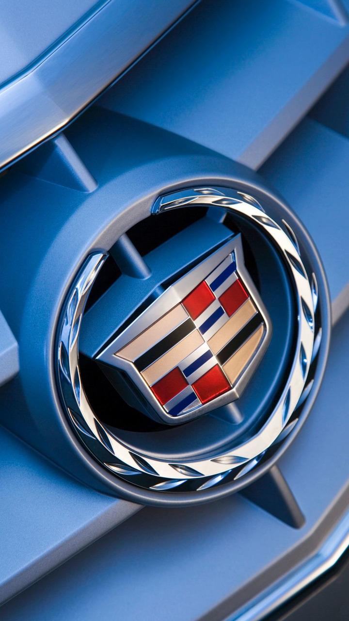 Cadillac BLS grille emblem logo