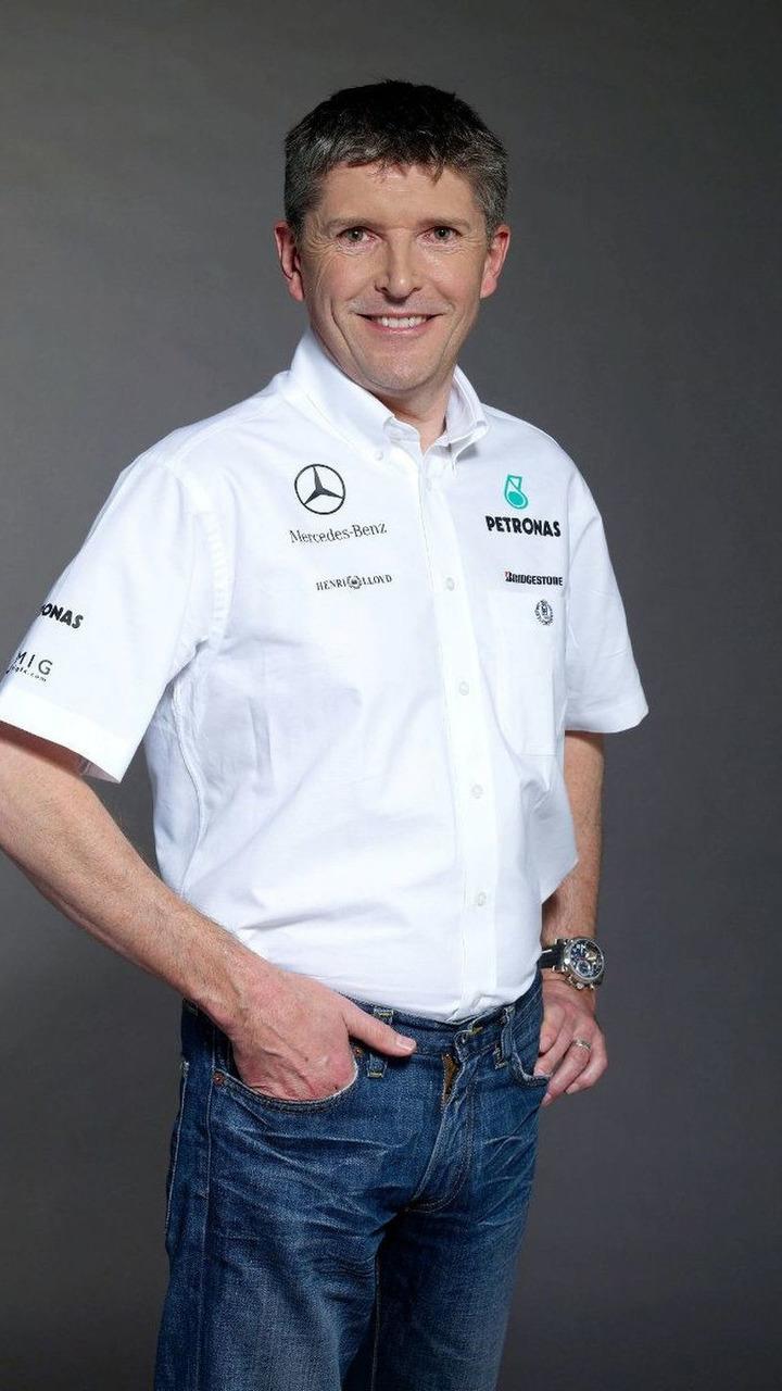 Nick Fry, Mercedes GP, CEO, portrait