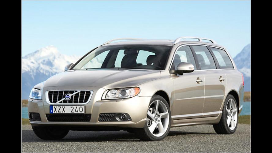 Zwei neue Zweiliter-Vierzylinder für den Volvo V70 und S80