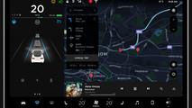Tesla Model 3 UI interactive mock-up