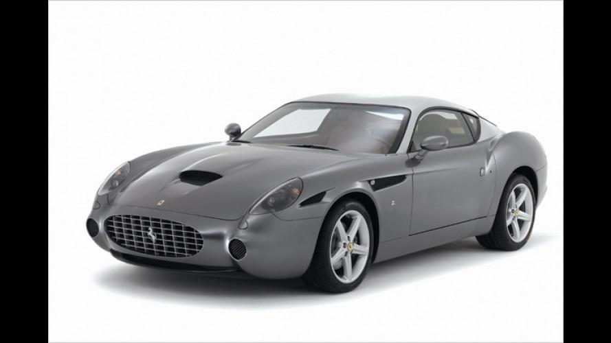 Ferrari 575 GTZ: Zagato kleidet 575M in klassische Gewänder