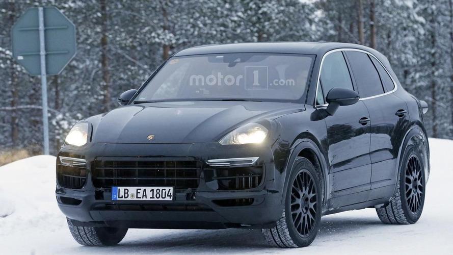 Spyshots - Le Porsche Cayenne 2018 en préparation