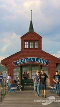 Watkins Glen marina on Seneca Lake