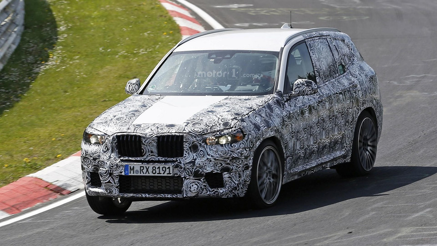 2018 BMW X3 M spy photos