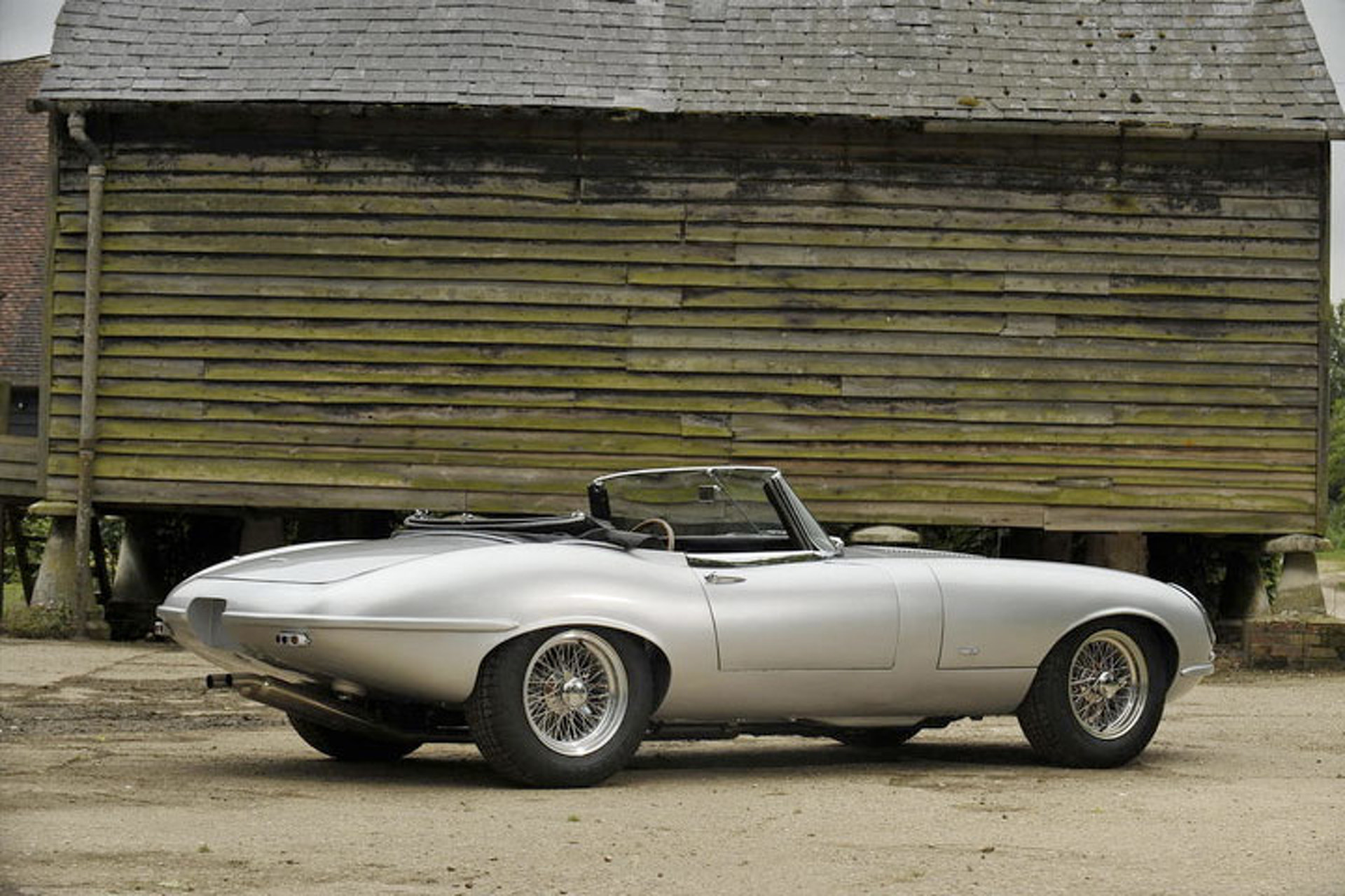 Across the Block: Jaguar E-Type Evolution Roadster