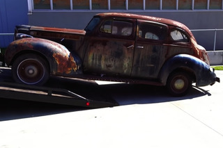 This 1940 Packard Will Be Getting a Second Life For SEMA