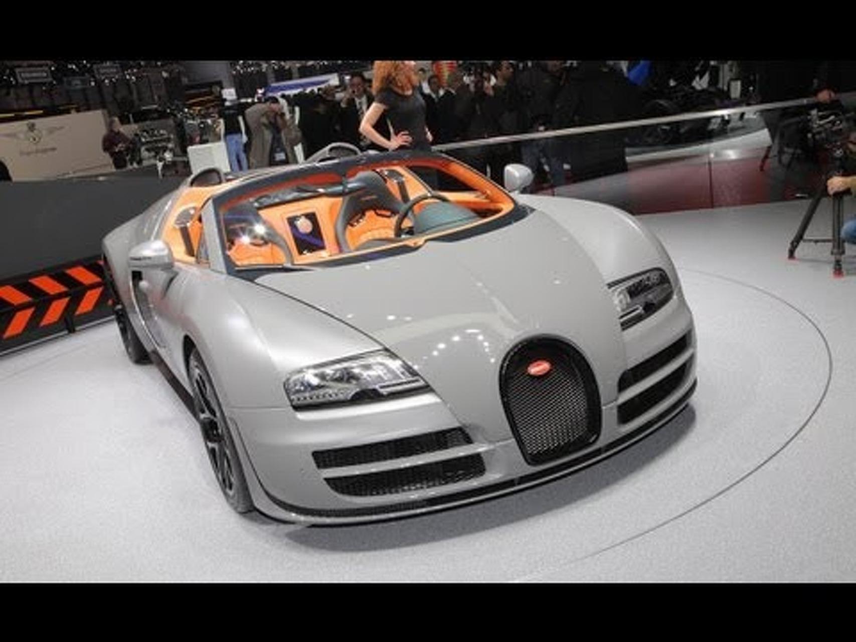 2013 Bugatti Veyron 16.4 Grand Sport Vitesse @ 2012 Geneva Auto Show