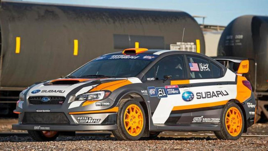 2015 Subaru WRX STI rallycross car unveiled with 580 bhp