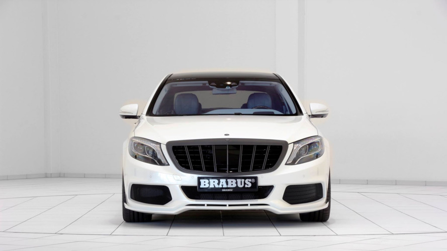 Brabus Maybach S600 in white and blue