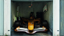 garage photo mural samples 886