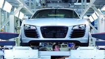 Audi R8 Production
