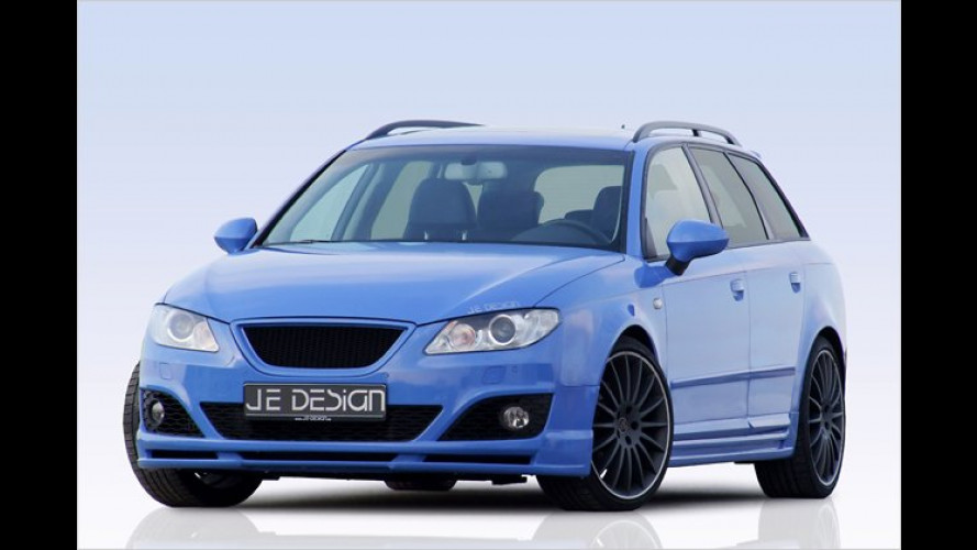 Massage-Athlet: Seat Exeo ST von JE Design