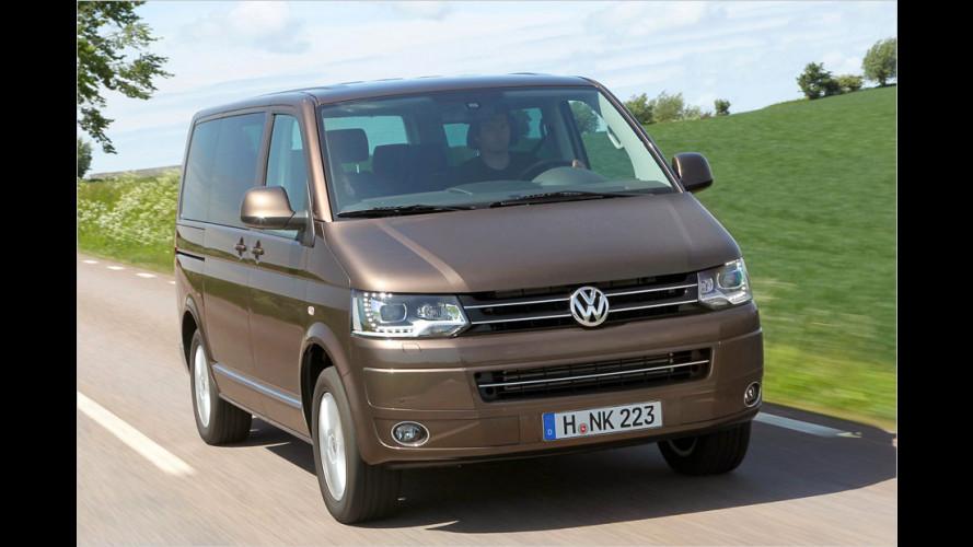 VW T5: Zwei neue Motoren