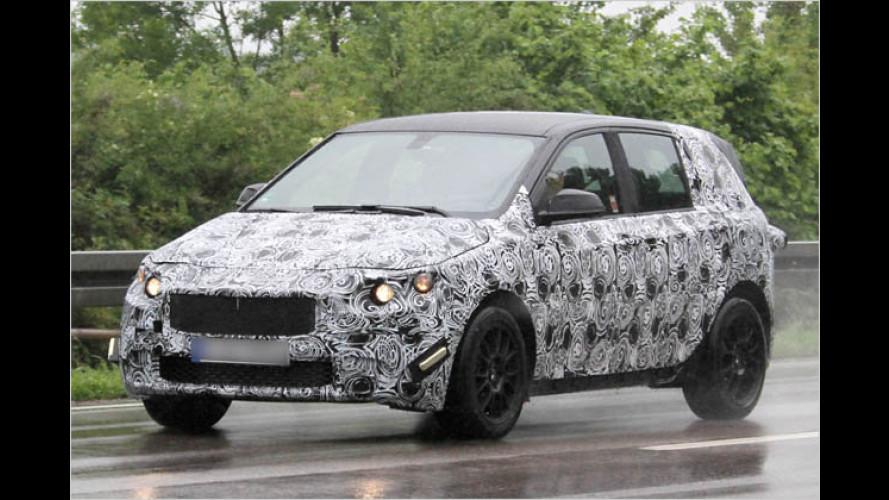 Erstmals gesichtet: Neues BMW-Modell mit Frontantrieb