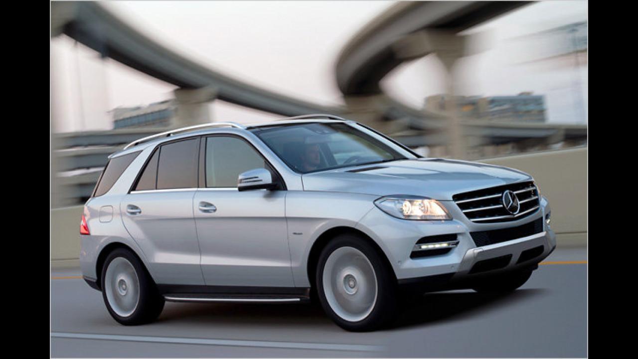 Neue Mercedes M-Klasse