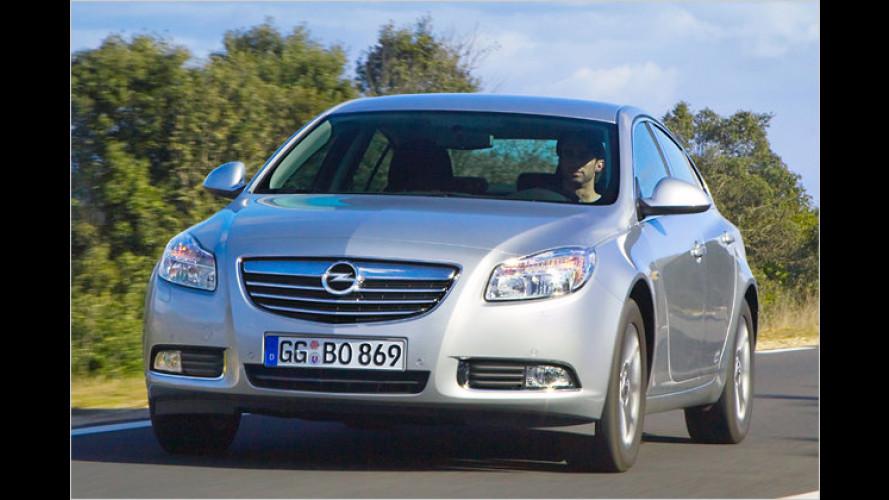 Opel Insignia ecoFlex: Einstieg jetzt mit 130-PS-Version