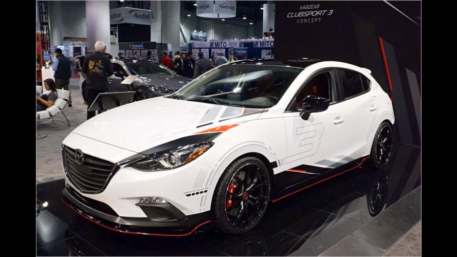Rennanzug und Edelgewand für Mazda 3 und Mazda 6