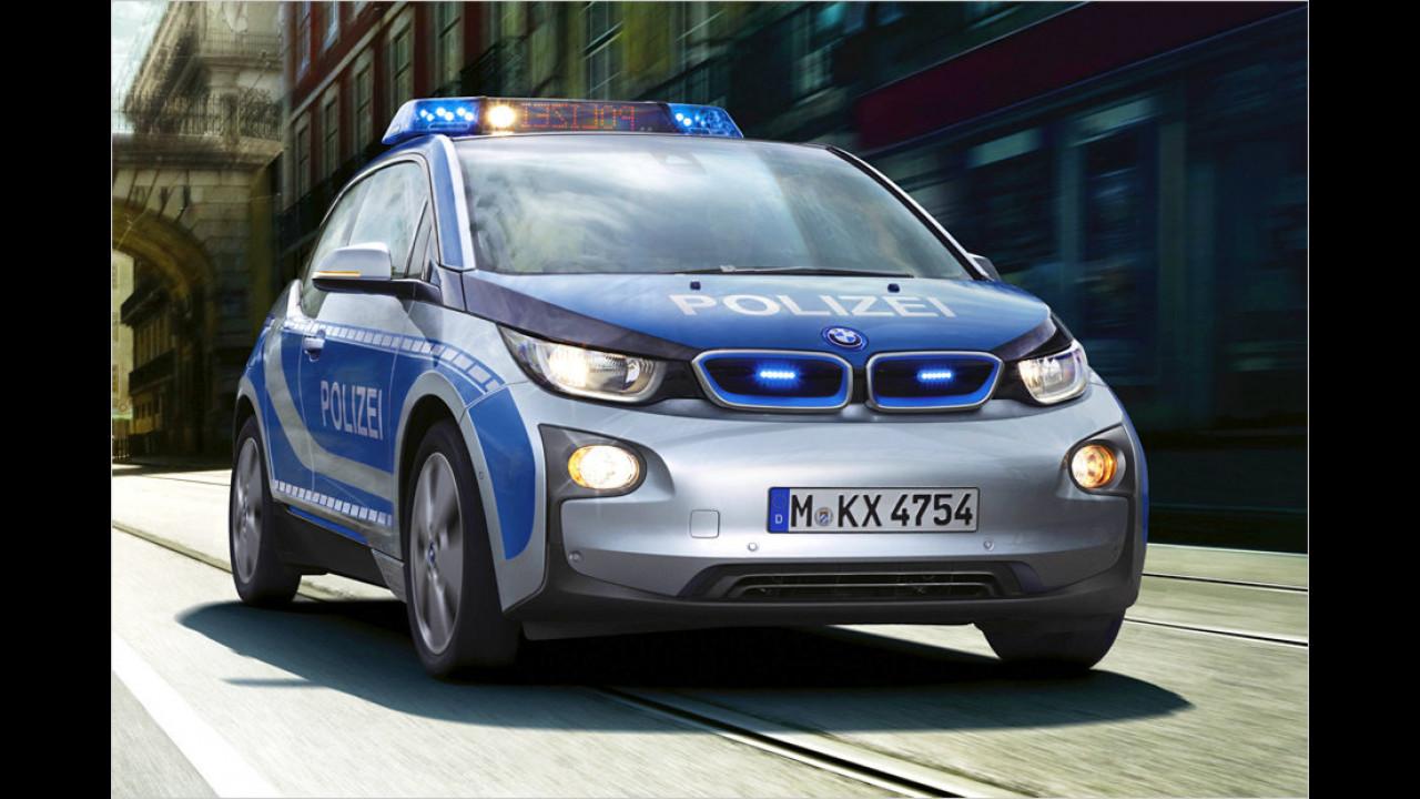 Bayerns Polizei unter Strom
