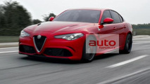 2016 Alfa Romeo Giulia leaked official photo / AutoForum.cz