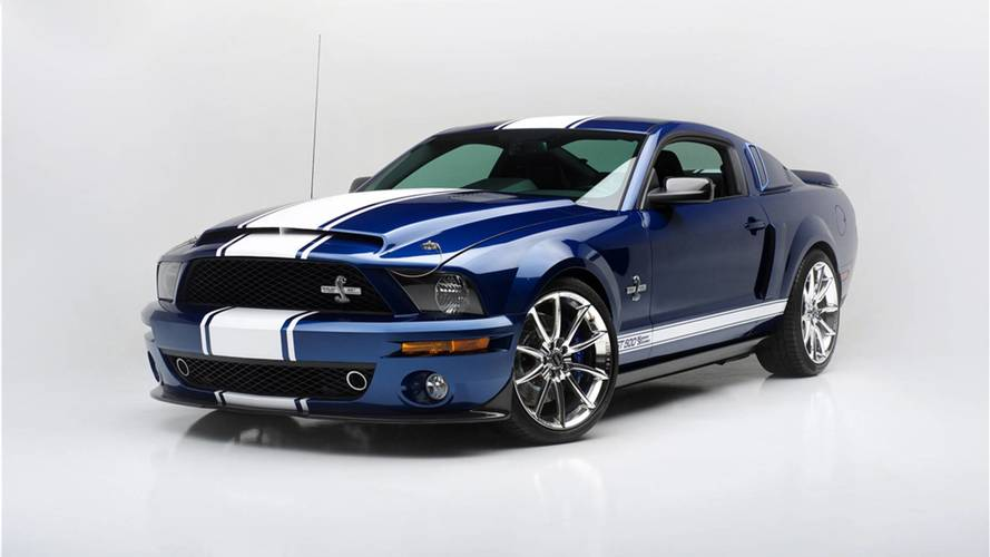 Shelby GT500 Super Snake Auction To Benefit Vegas First Responders