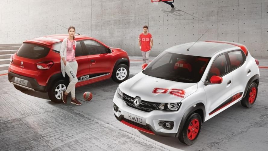 Renault Kwid ganha série especial 02 Anniversary Edition