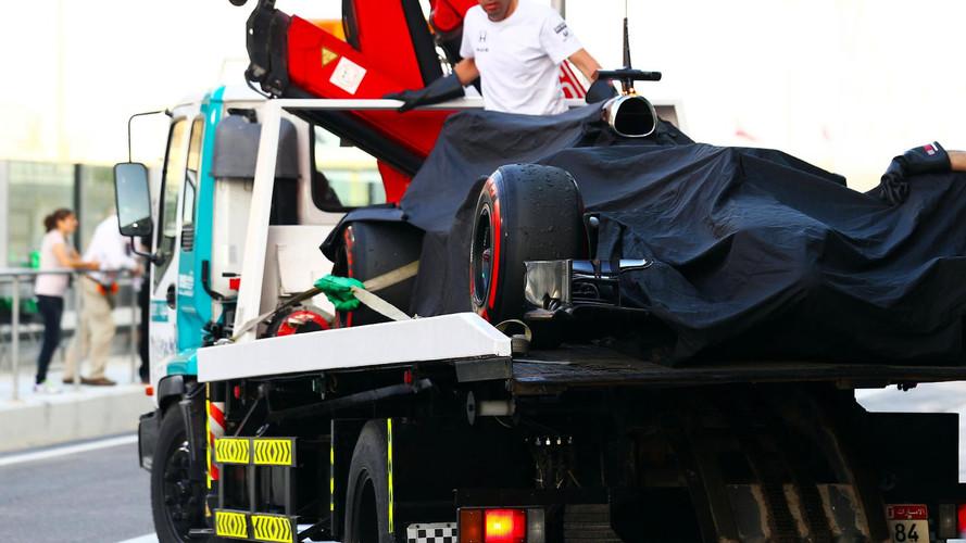 Trayectoria McLaren-Honda 2016-2018