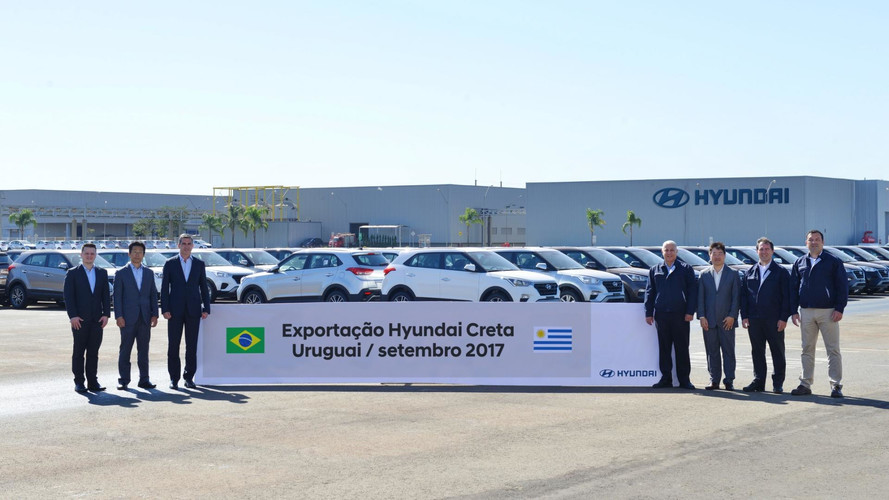Hyundai Creta - Exportação Uruguai
