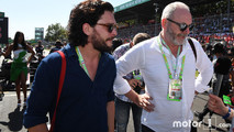 Kit Harrington et Liam Cunningham F1 Monza
