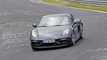 Porsche 718 Cayman GTS, fotos espía