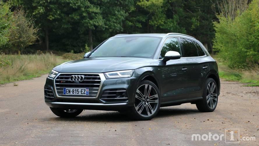 Essai Audi SQ5 (2017) - Nager entre deux eaux