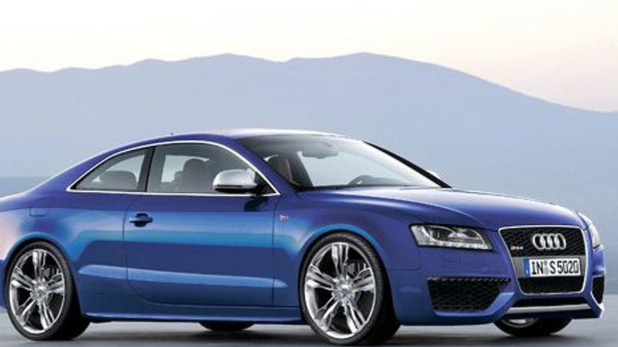 Audi RS 5 Engine Speculation and Rendering