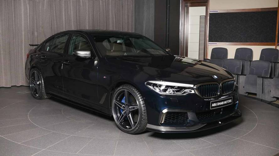 Admira este BMW M550i, más espectacular que todo un M5