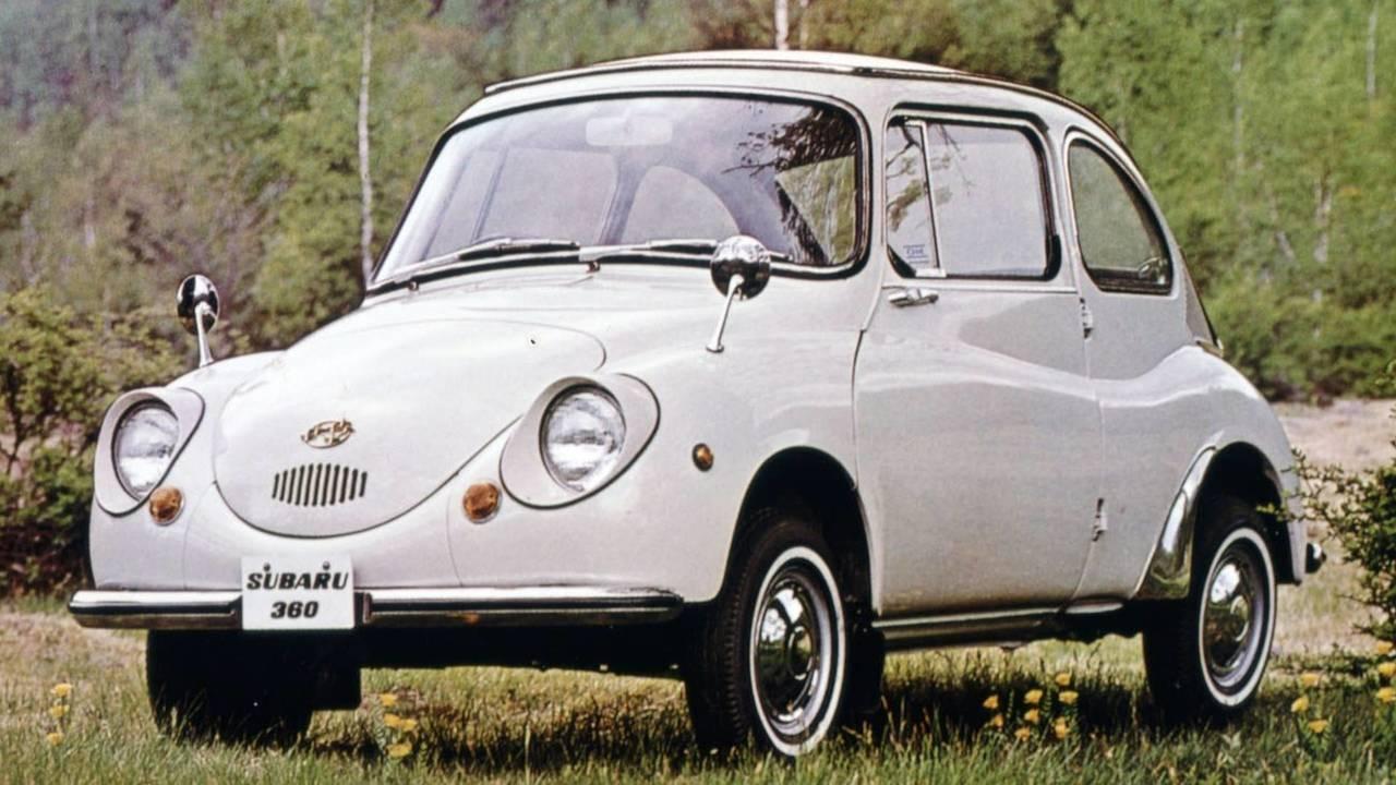 Subaru 360: Ladybug