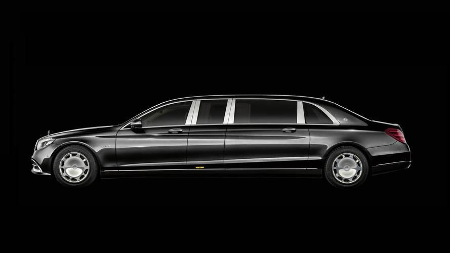 Mercedes-Maybach Pullman restyling 2018