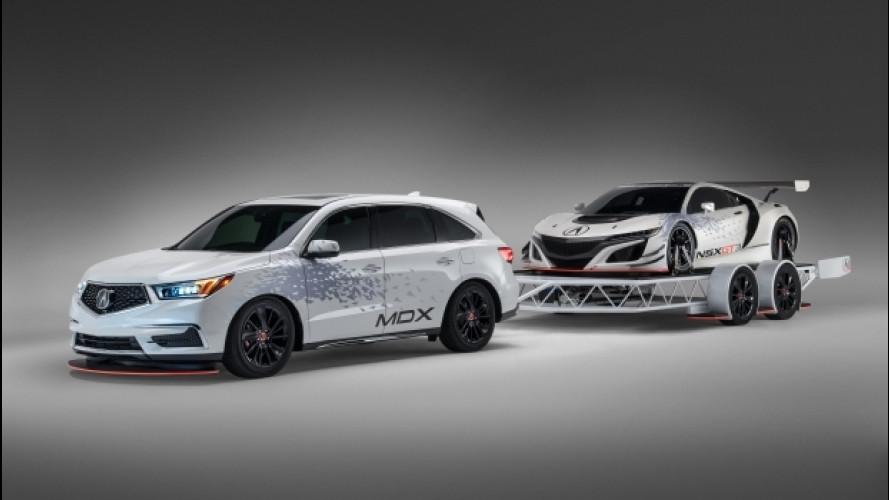 Acura al SEMA, la regina per il 2016 è l'NSX GT3