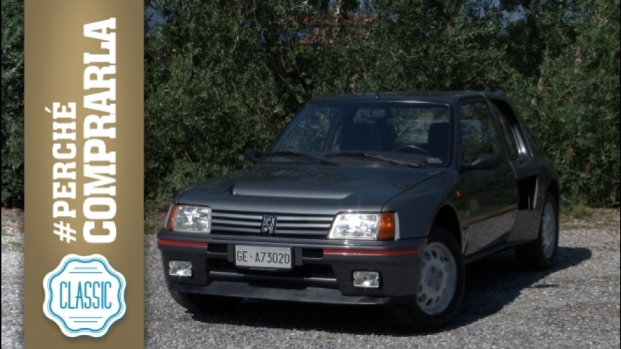 Peugeot 205 T16, perché comprarla... Classic [VIDEO]