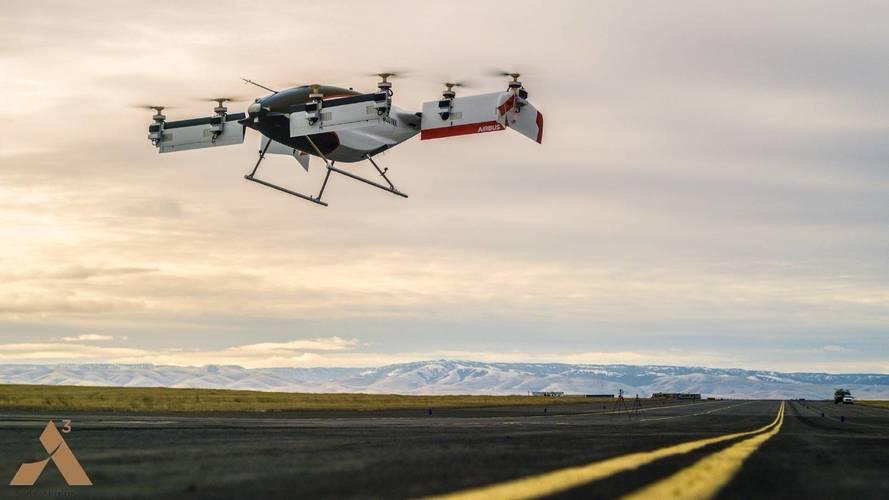 Le taxi volant d'Airbus réussit son premier test