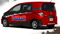 Honda Freed Spike Transporter for Tokyo Auto Salon 11.01.2012