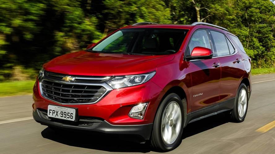 Chevrolet aumenta preços de Equinox, Tracker, Montana, S10 e Trailblazer