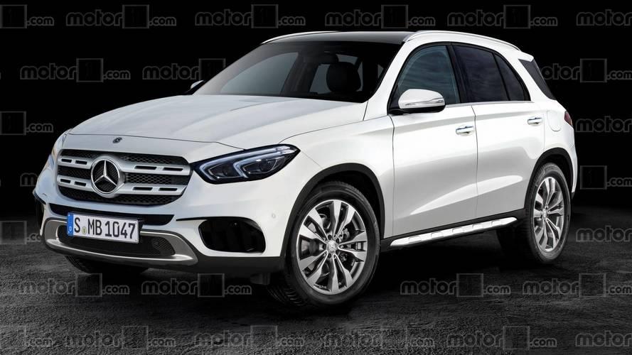 Illustration - Un rendu de la nouvelle Mercedes GLE