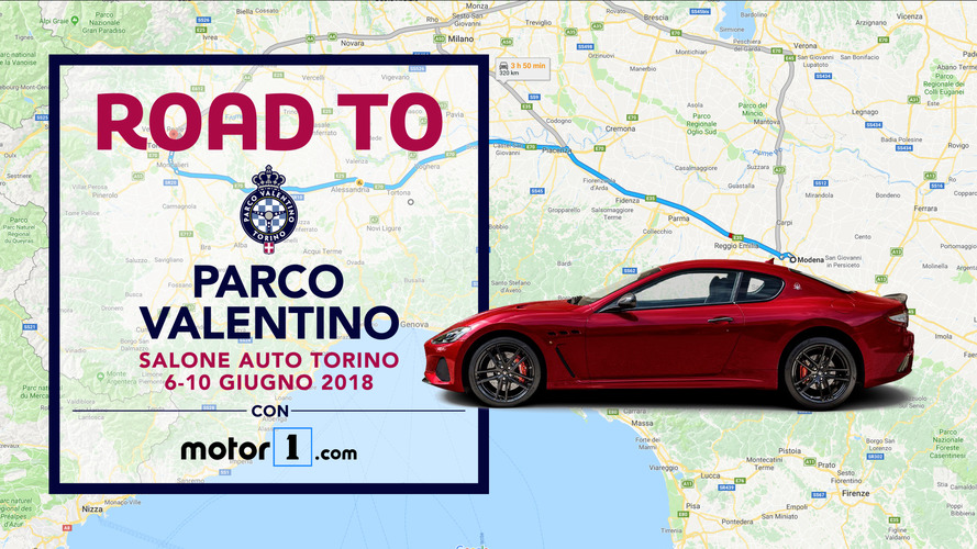 Road to Parco Valentino, andiamo tutti a Torino in supercar!