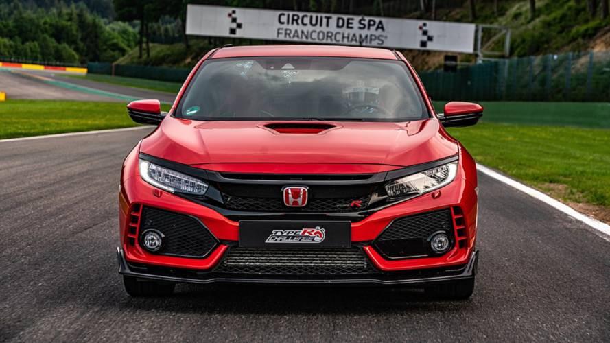 Honda Civic Type R 2018: récord en Spa-Francorchamps
