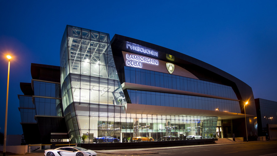 Lamborghini's New Dealership In Dubai Is Epic