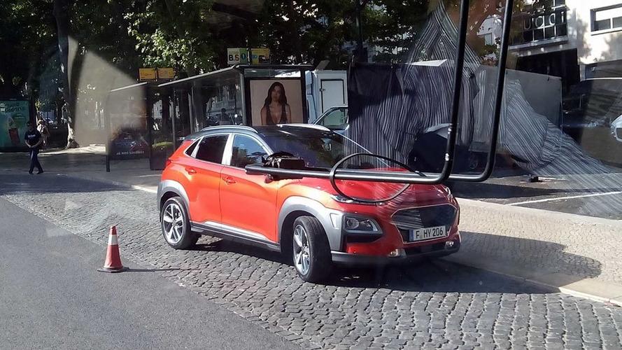 Hyundai Kona spy image