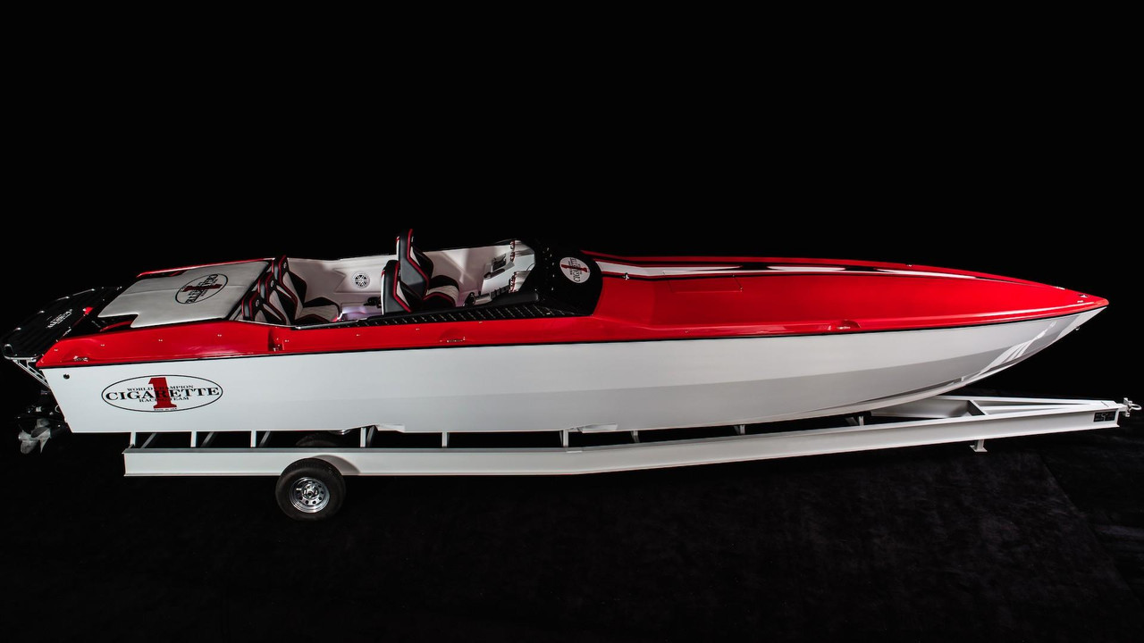 Top Gun Cigarette Racing Boat