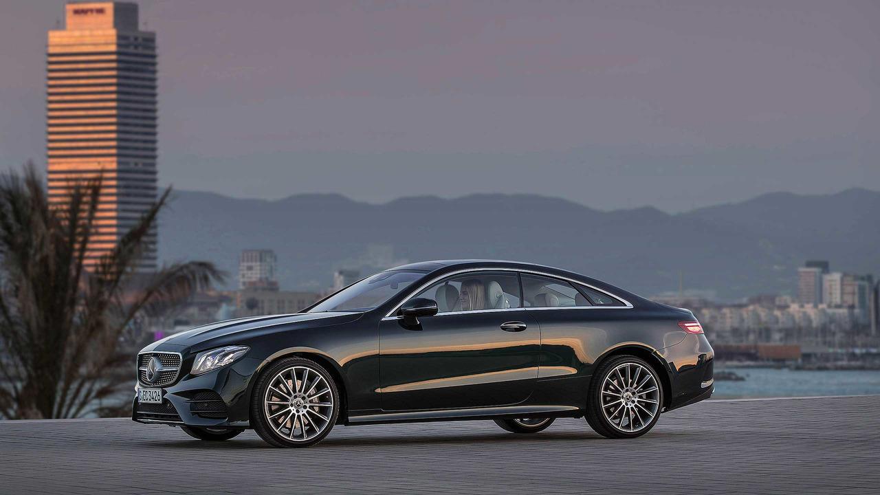 2017 mercedes benz e class coupe first drive for Mercedes benz photos